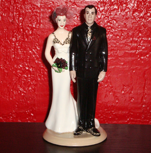 Tattoo Style Cake Toppers