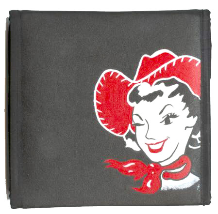 Retro Cowgirl CD Case