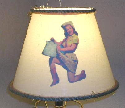 Cowgirl Lampshade