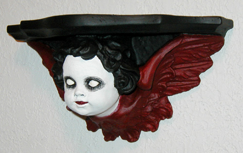Evil Angel Wall Sconce