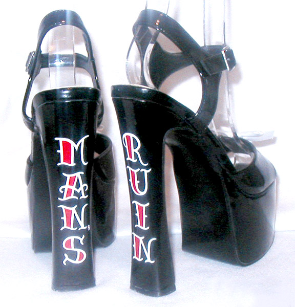 Man's Ruin Tattoo Shoes