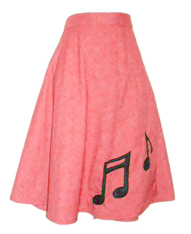 ReVamped Music Note Skirt