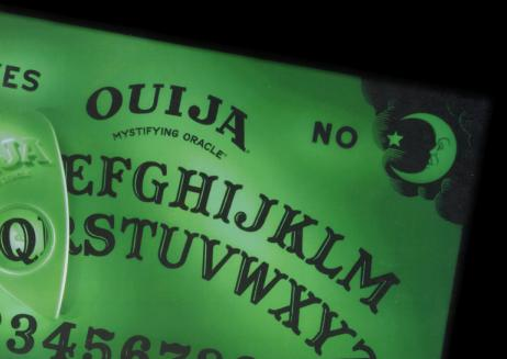 Glowing Ouija Board Table