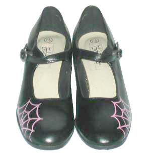Pink Spiderweb Shoes