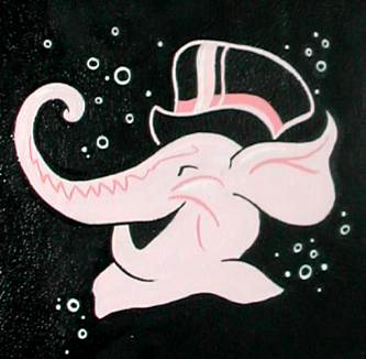 Pink Elephant Travel Bar