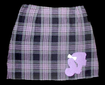 Plaid Barbie Girl Skirt
