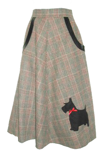 Scotty Dog Skirt
