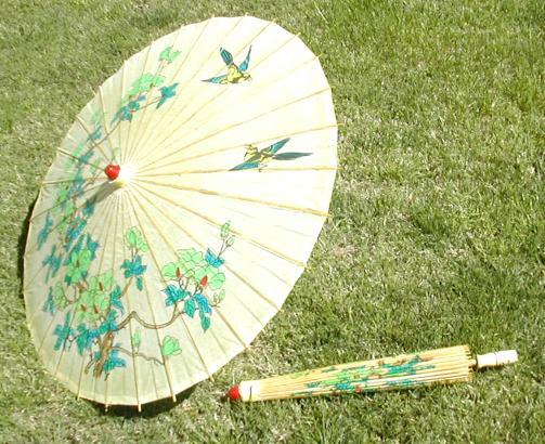 Paper Bamboo Parasol Paper Parasols With Bamboo